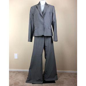 Anne Klein Suit Button Front Blazer Dress Pants